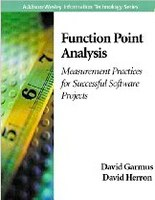 Review of book: Function Point Analysis: Measurement Practices for Successful Software Projects